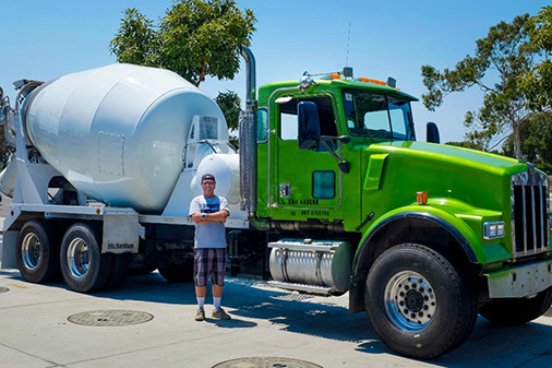 West Coast Outlaws Inc. Cement Truck